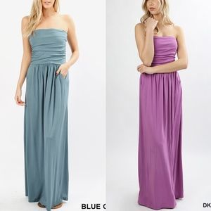 HAILEY Maxi Dress -  3 COLORS